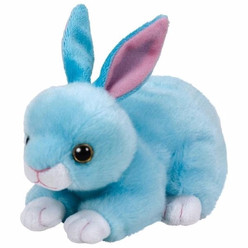 Pluche blauw konijnen/hazen Ty Beanie Classic Jumper 15 cm