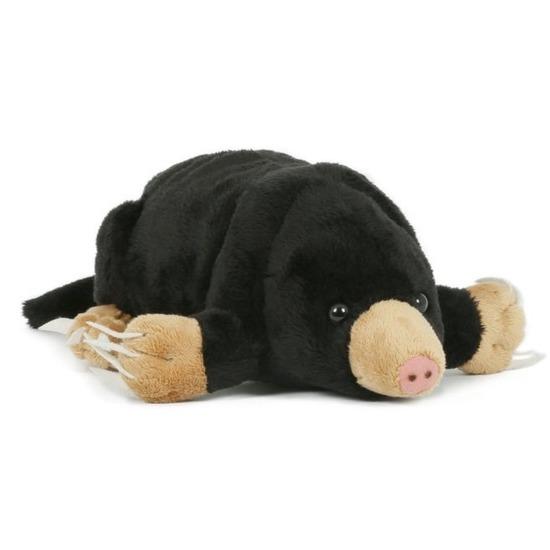 Pluche bruine mol knuffel 23 cm