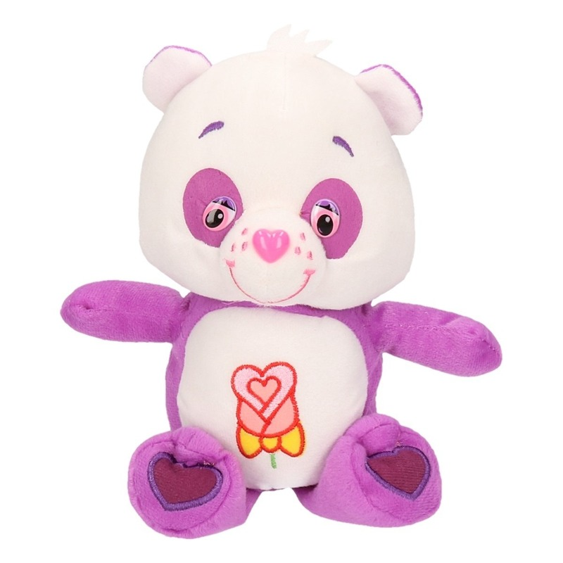 Pluche care bear roos 22 cm