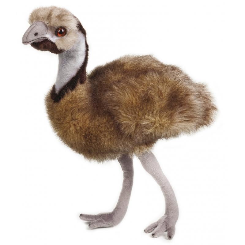 Pluche emoe grijs/bruin 44 cm