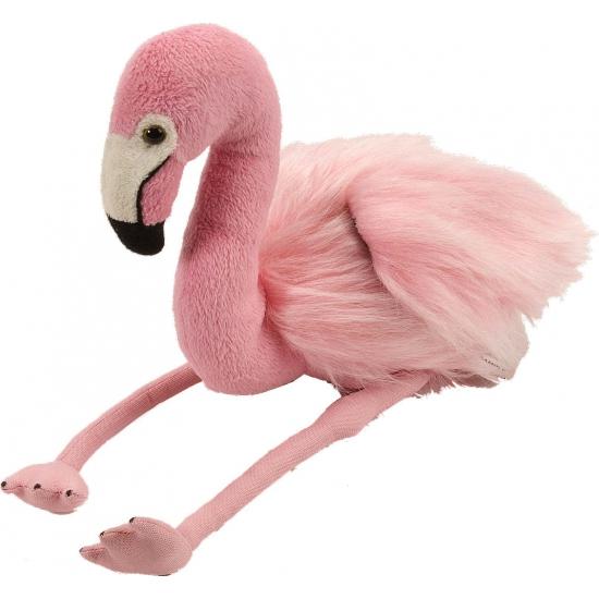 Pluche flamingo 30 cm