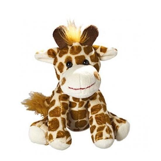 Pluche giraf knuffel 18.5 cm
