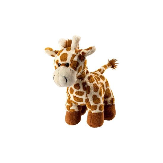 Pluche giraffe knuffel 18 cm
