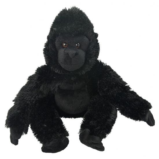 Pluche gorilla apen knuffeldier 33 cm