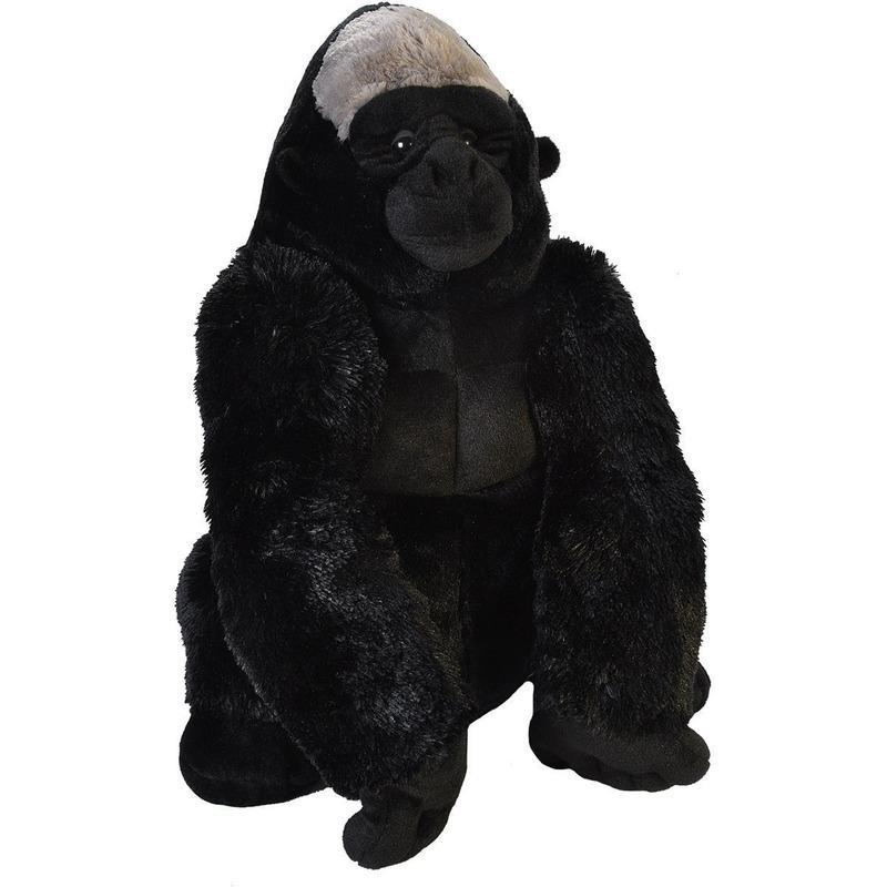 Pluche gorilla grote dierenknuffel 58 cm