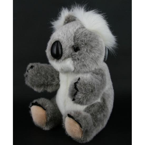 Pluche grijze koala knuffel 23 cm knuffeldieren