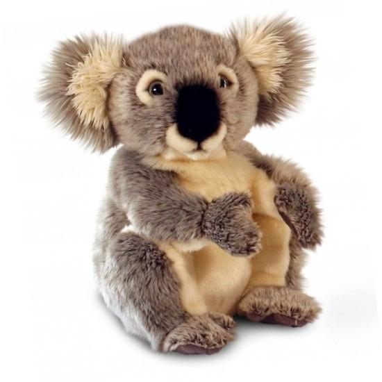 Pluche grijze Koalabeertje van 28 cm