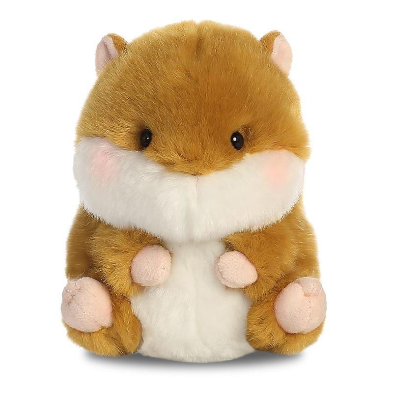 Pluche hamster knuffeldier 12 cm
