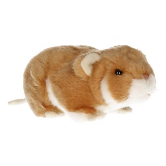 Pluche hamster licht bruin