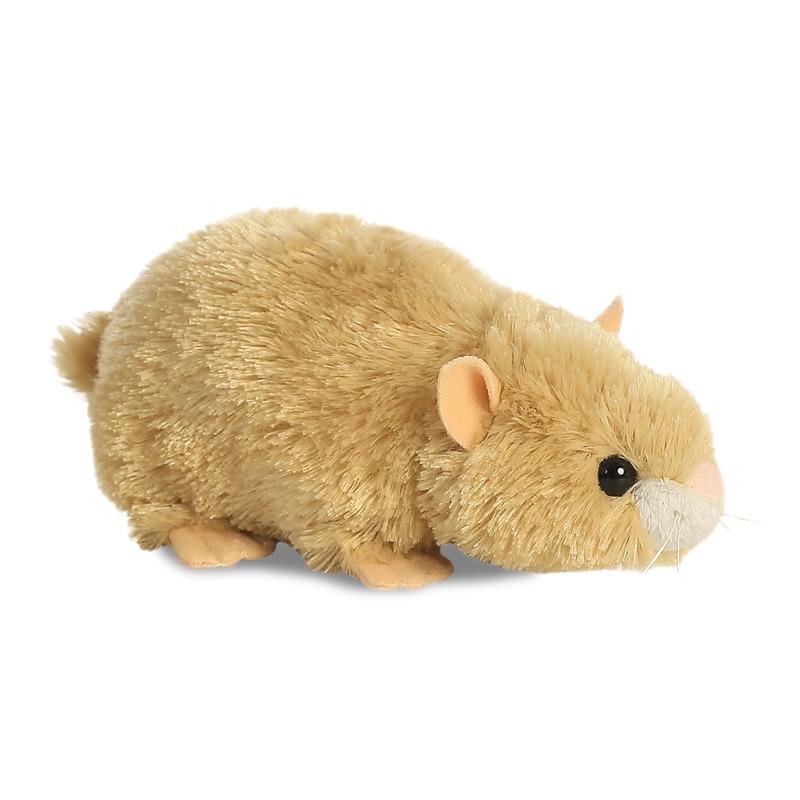 Pluche hamstertje knuffeldier 20 cm