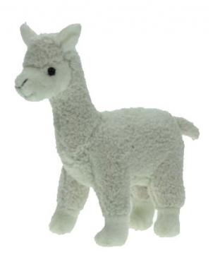 Pluche knuffel alpaca