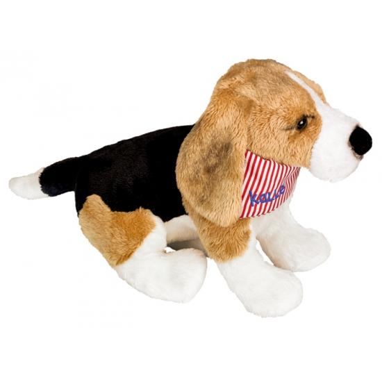 Pluche knuffel Beagle 25 cm