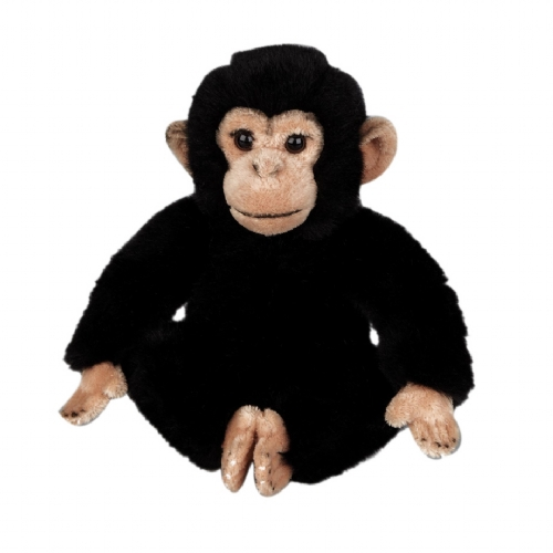 Pluche knuffel chimpansee 25 cm