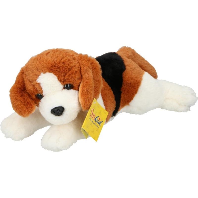 Pluche knuffel hond 30 cm knuffeldieren