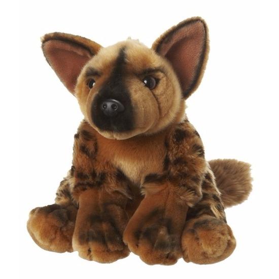 Pluche knuffel hyena 18 cm