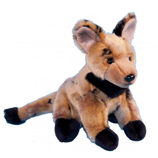 Pluche knuffel hyena 21 cm