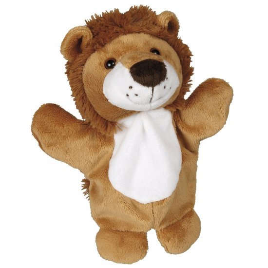 Pluche knuffel leeuw 27 cm