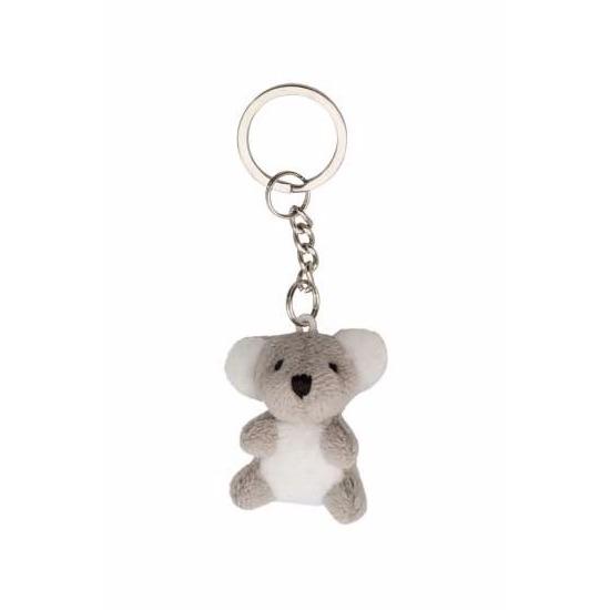 Pluche knuffel sleutelhanger koala beertjes 6 cm