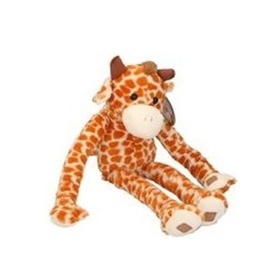 Pluche knuffelbeest giraf van 55 cm