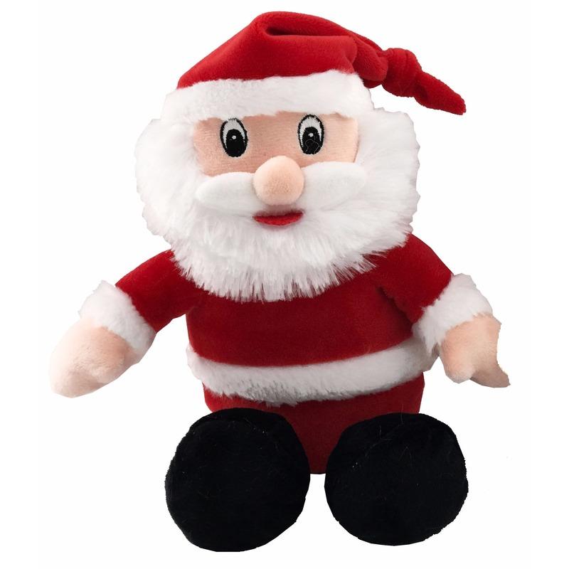 Pluche knuffeltje Kerstman 26 cm