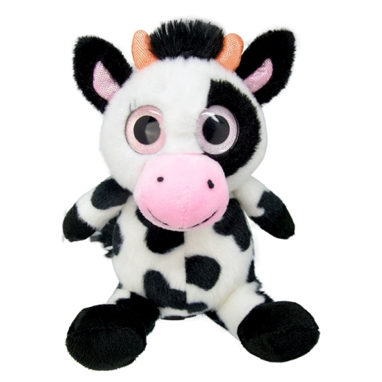Pluche koe knuffeldier 20 cm