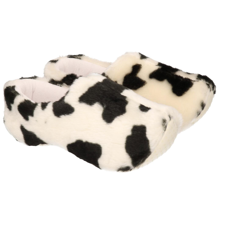 Pluche koeien pantoffel