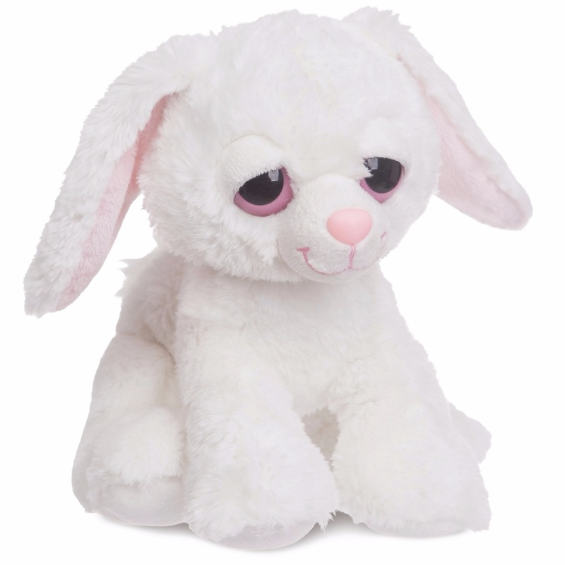 Afbeelding Pluche konijn/haas knuffeldier 30 cm door Animals Giftshop