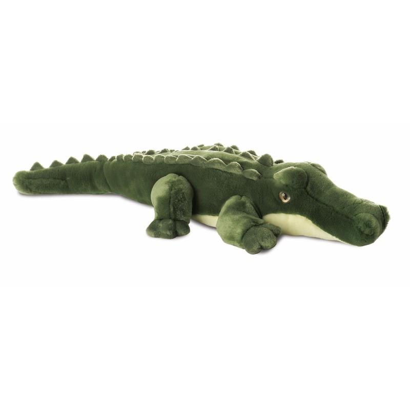 Pluche krokodilletje knuffeldier 30 cm