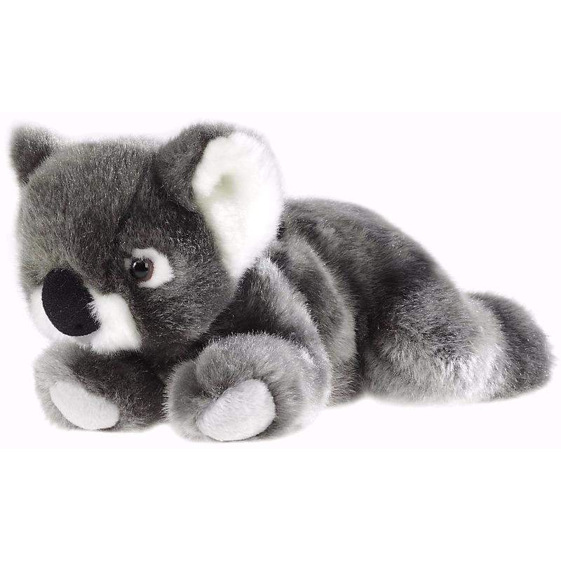 Pluche liggende koala knuffeldier 23 cm
