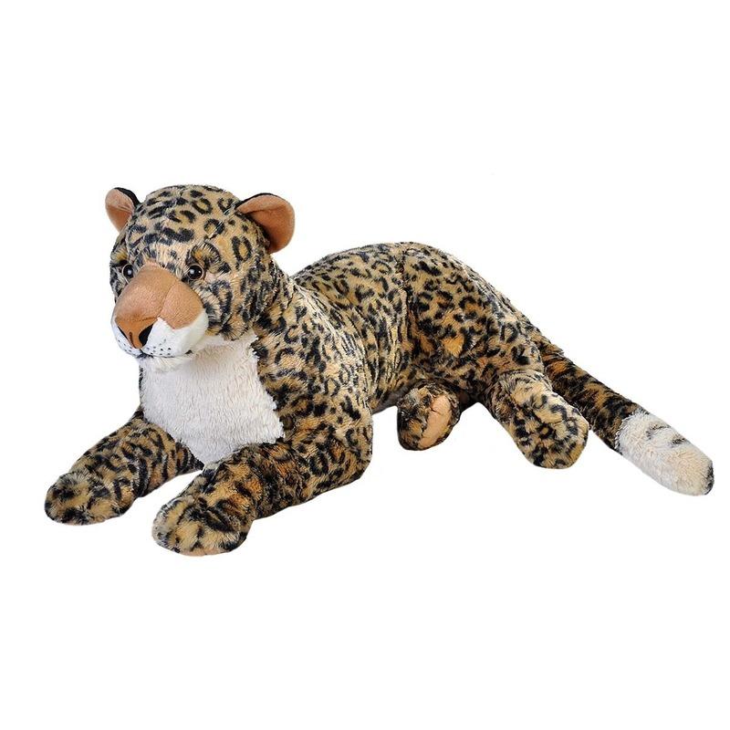 Pluche luipaard grote dierenknuffel 76 cm