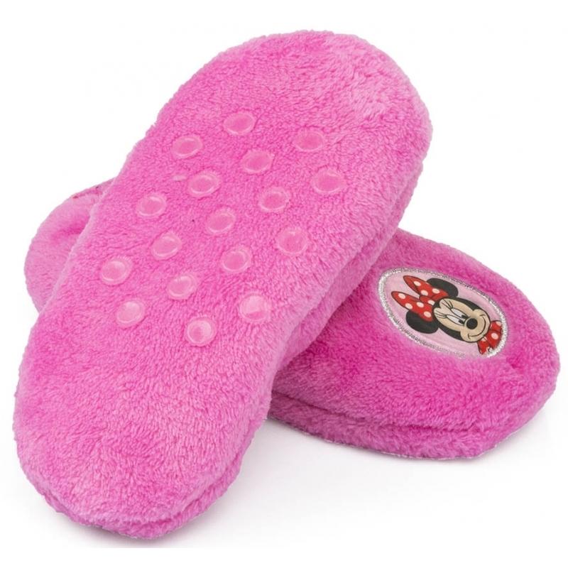 57431ab8e59 Minnie Mouse slofjes roze anti-slip | Dieren artikelen & cadeaus
