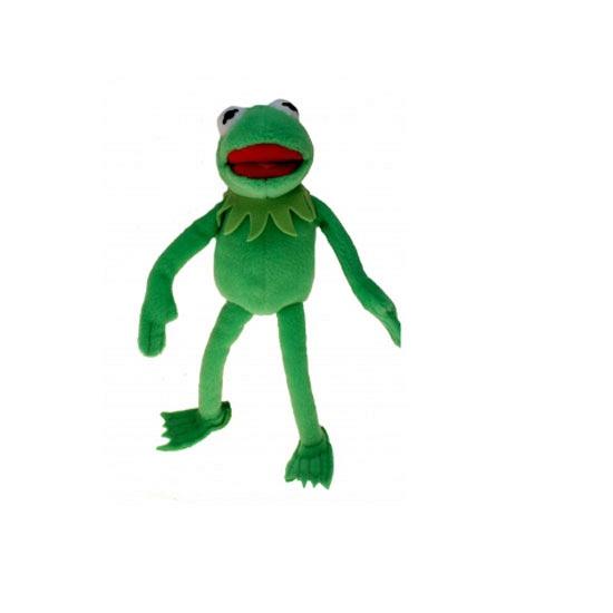 Pluche muppet knuffels Kermit 35 cm