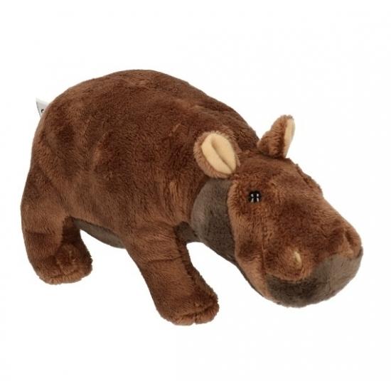 Pluche nijlpaard knuffel 20 cm