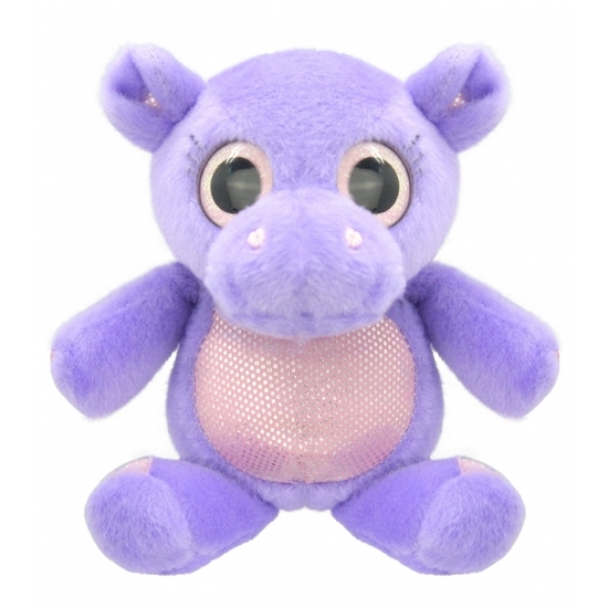 Pluche nijlpaard knuffeldier 18 cm