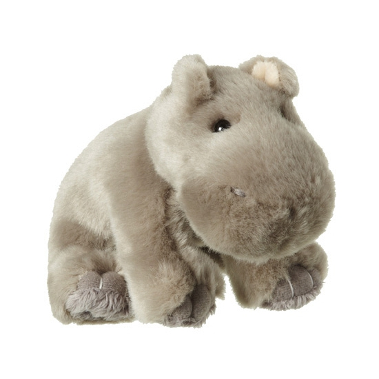 Pluche nijlpaard knuffels 12 cm