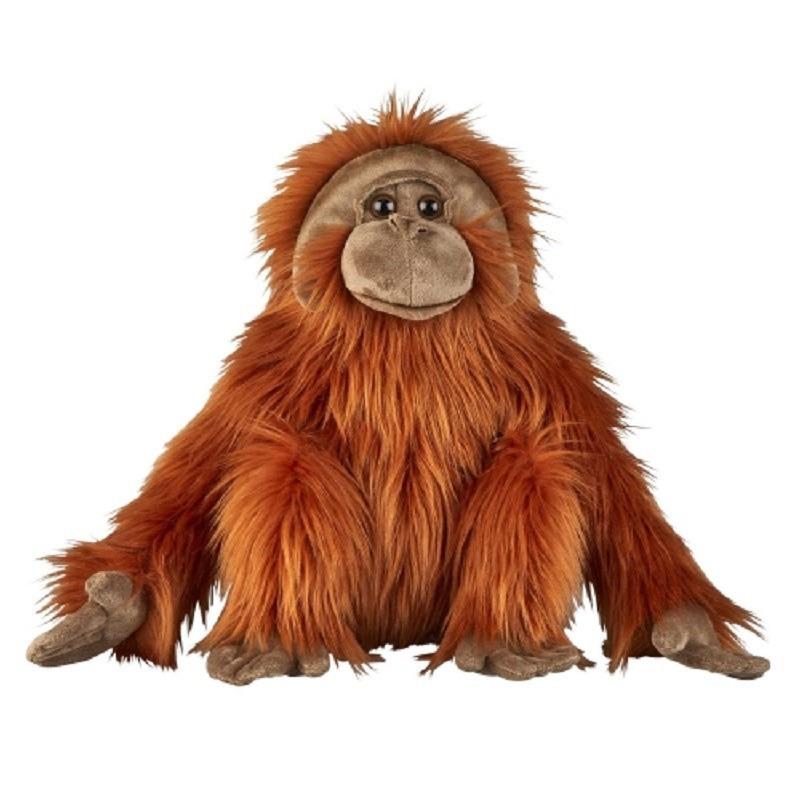 Pluche Orang Oetan aap/aapje bruin knuffel 50 cm knuffeldieren