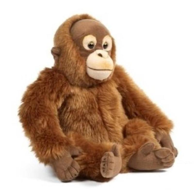 Pluche Orang Oetan bruin knuffel 30 cm knuffeldieren