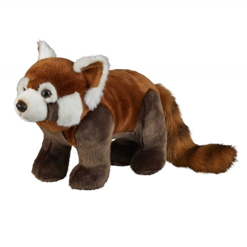 Pluche rode panda knuffel 50 cm knuffeldieren