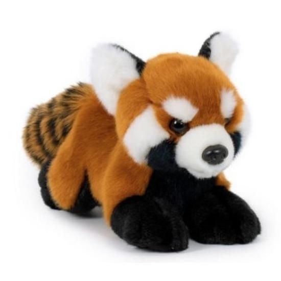 Pluche rode panda knuffels 20 cm knuffeldieren