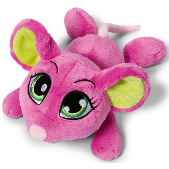 Pluche roze muizen 50 cm