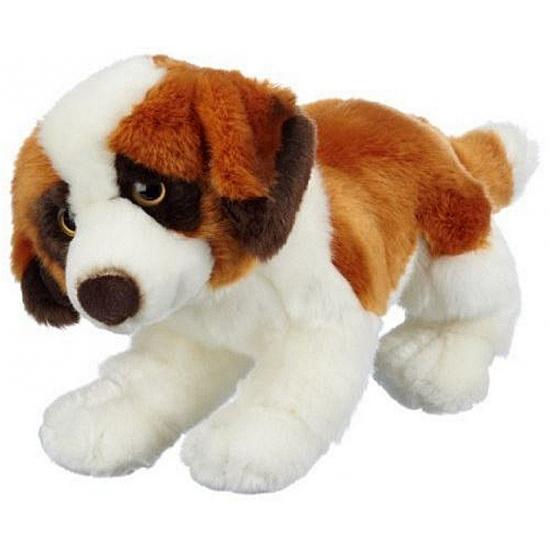 Pluche Sint Bernard hond 26 cm