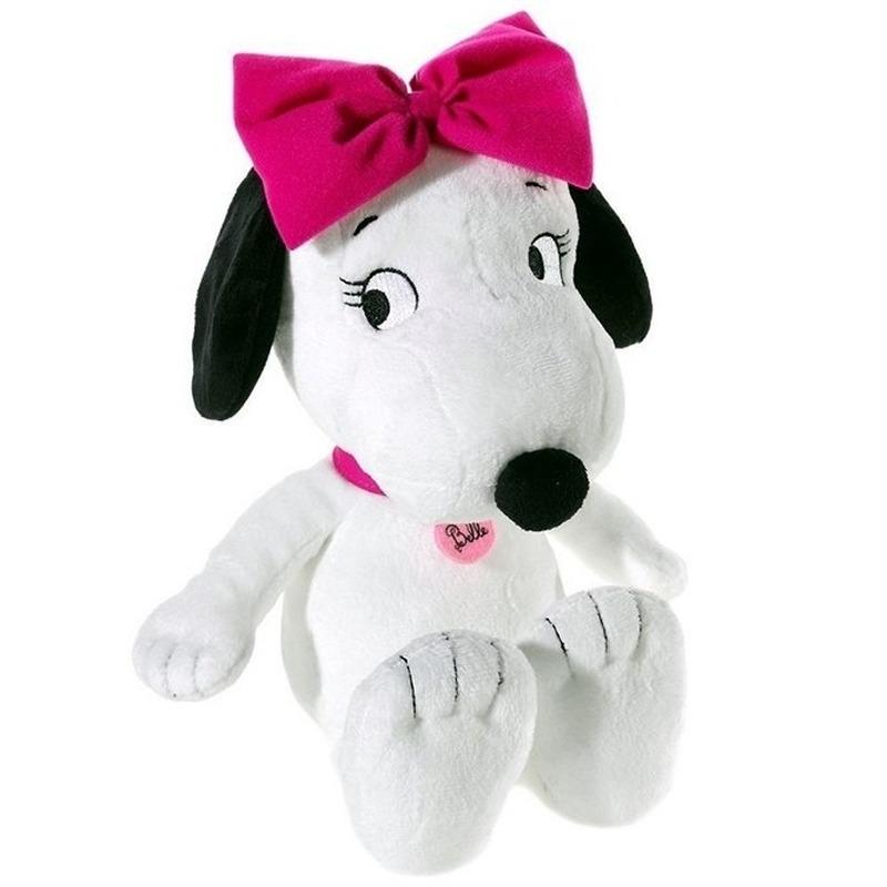Pluche Sister Belle Snoopy hondje knuffel 30 cm