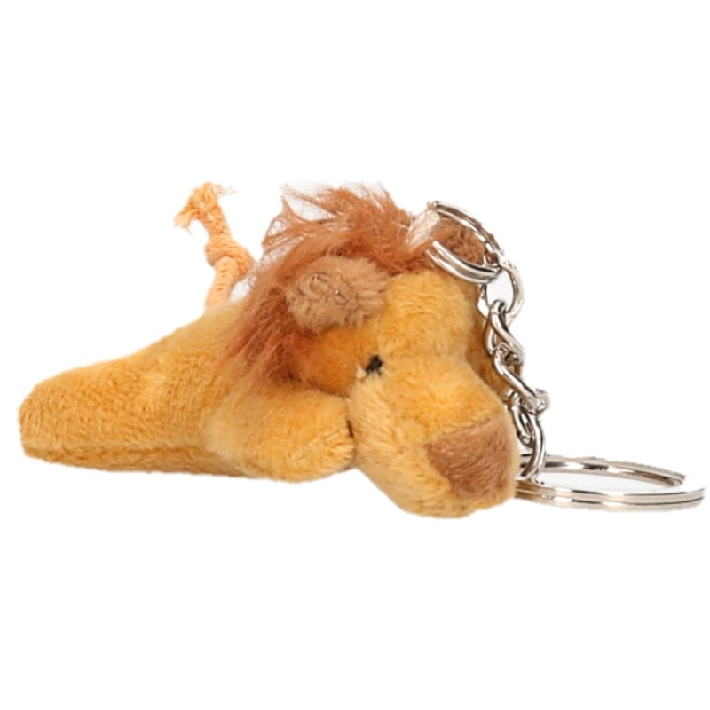 Pluche sleutelhanger Leeuw 6 cm