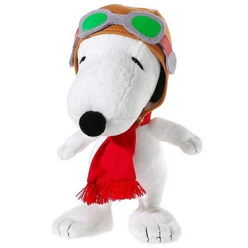 Pluche Snoopy knuffel 18 cm