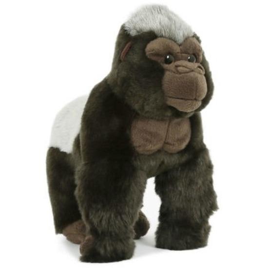 Pluche speelgoed gorilla/aap knuffeldier 28 cm
