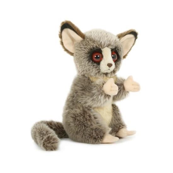 Pluche speelgoed spookdiertje knuffeldier 18 cm