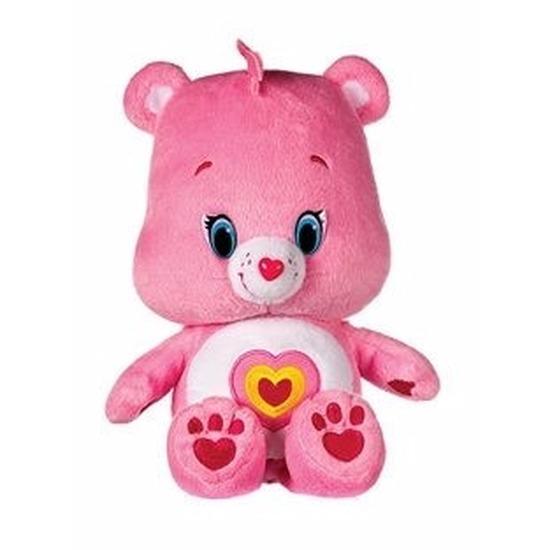 Pluche Troetelbeertjes knuffeltje licht roze 22 cm