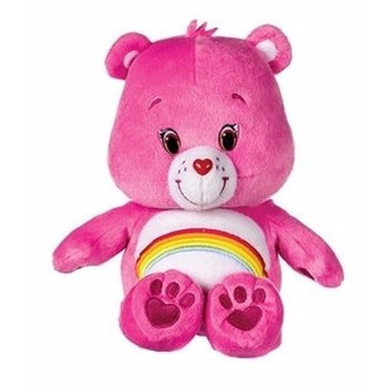 Pluche Troetelbeertjes knuffeltje roze 22 cm