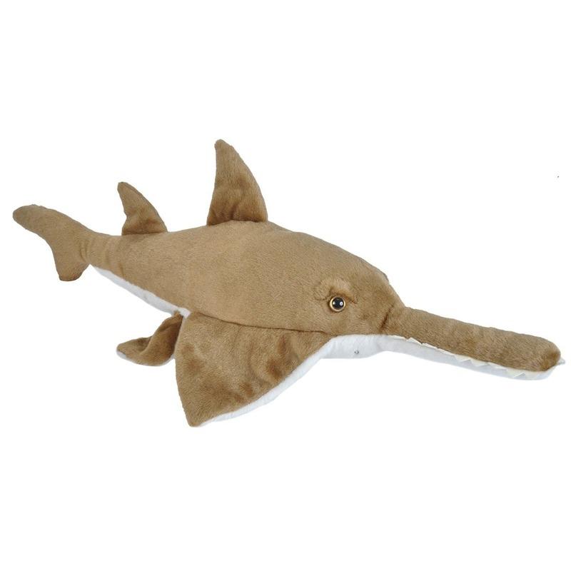 Pluche zaagvis dierenknuffel 38 cm