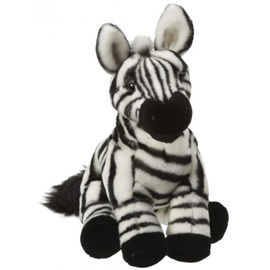 Pluche zebra knuffel 27 cm